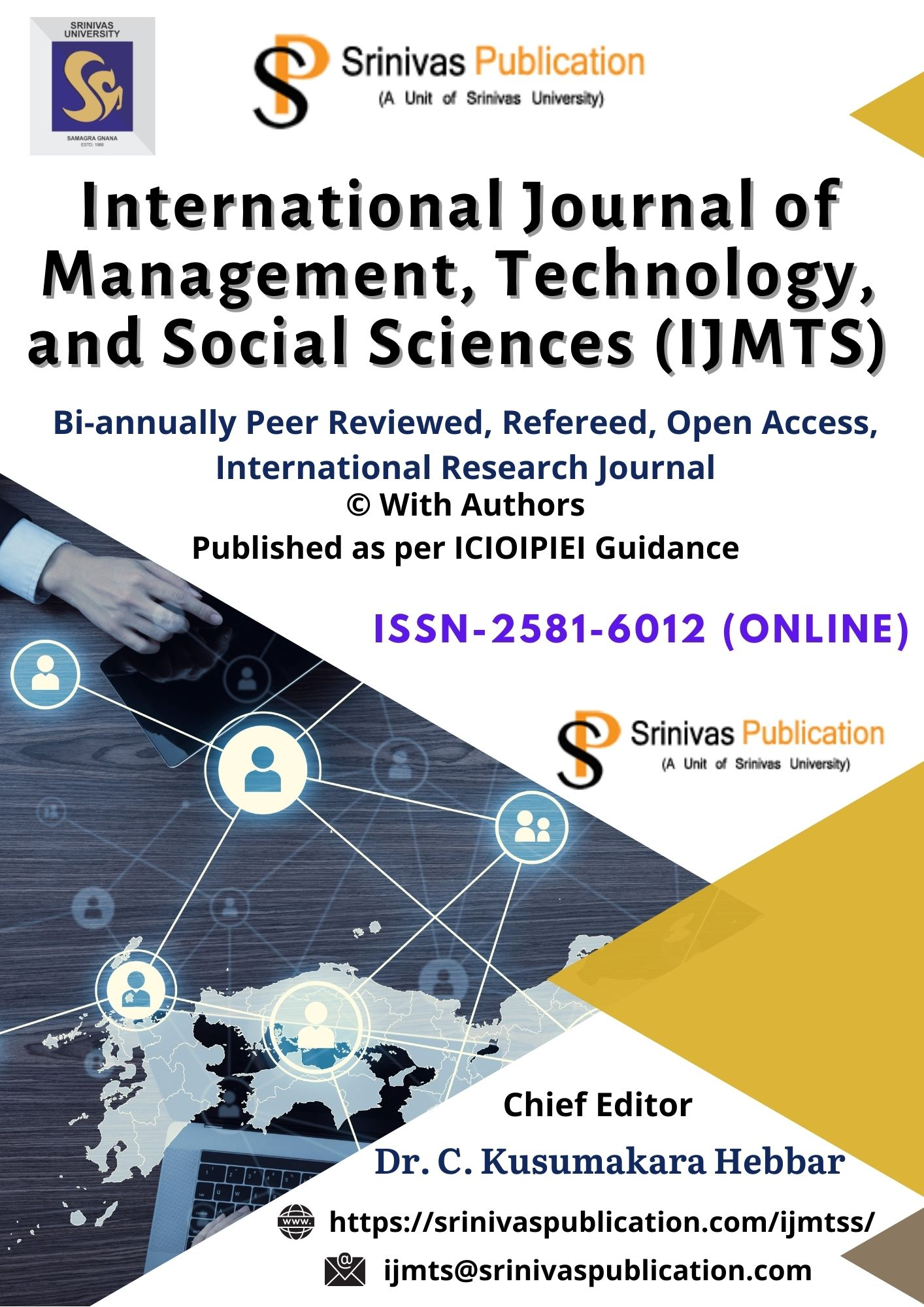 International Journal of  Management, Technology and Social Sciences (IJMTS) is an international, not-for-profit, open-access bi-annual online Refereed journal that accepts research works from scholars, academicians, professors, doctorates, lecturers and corporate in their respective expertise of studies. The aim of IJMTS is to publish peer reviewed research and review articles. The mission of this journal is to publish original contributions in its field to promote research in various disciplines. IJMTS aims to bring pure academic research and more practical publications. So it covers the full range of research applied to various sciences that meet the future demands. All submitted articles should report original, previously unpublished (experimental or theoretical) research and results. All the submissions in the scope of IJMTS will be peer-reviewed. All submissions are also checked for plagiarism. The length of the manuscript must be between five (5) to twenty (20) journal pages excluding references.